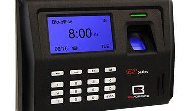 Fingerprint Punch Card Machine